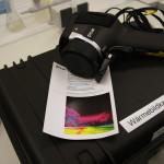 2011 - eine Wärmebildkamera veranschaulicht, wo die Energie bleibt