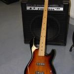 2011 - jetzt wird's laut: ein E-Bass