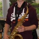 2006 - ein Tenorsaxophon - meist als Leihinstrument die Big Band im Einsatz
