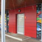 2009 - Sanierung der Schülertoilette vor dem eigentlichen Projekt