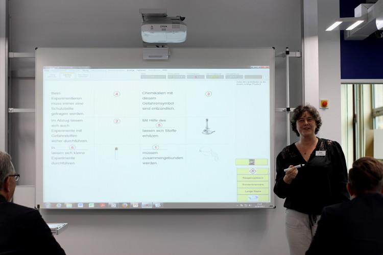 Unterricht mit Smartboard
