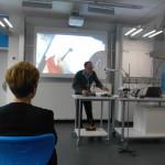 Experiment sichtbar über Smartboard