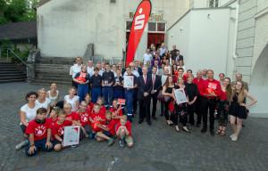 Wir für die Region Rhein-Berg Abschlussfeier in Bergisch Gladbach (P) Foto KSK Köln Marek Ratajczak